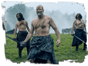 still image from Outlander TV Show