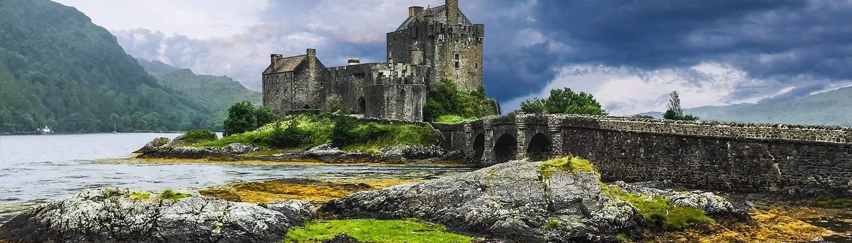 photo of Eileen Donan Castle by Diana MacFarlane