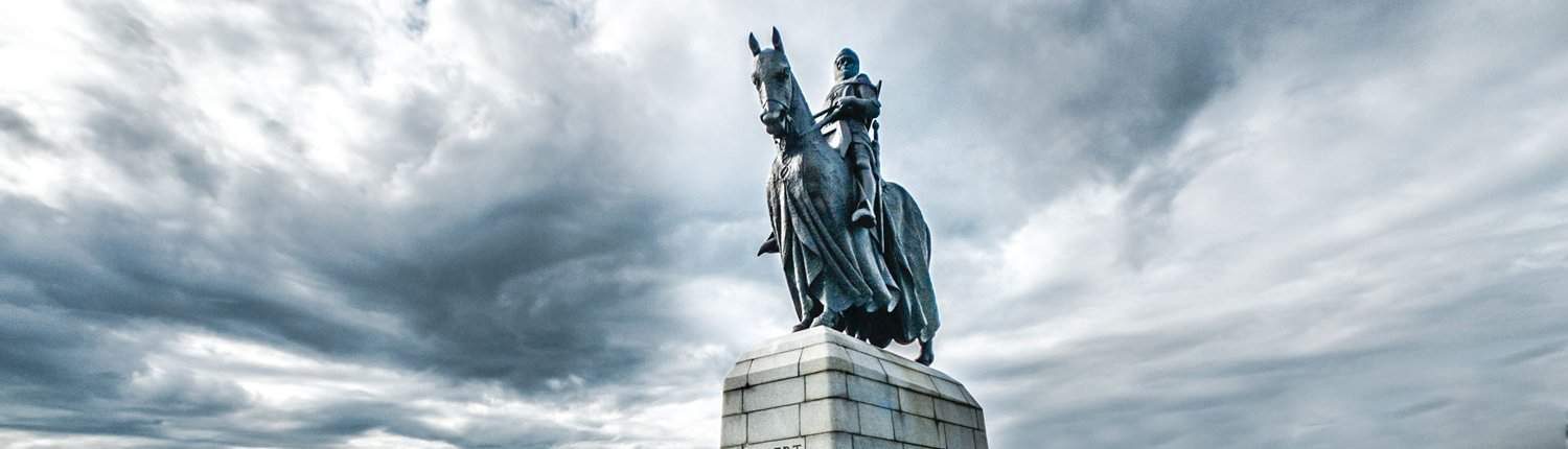 photo of Robert The Bruce Statue at Bannochburn, Scotland by Diana MacFarlane