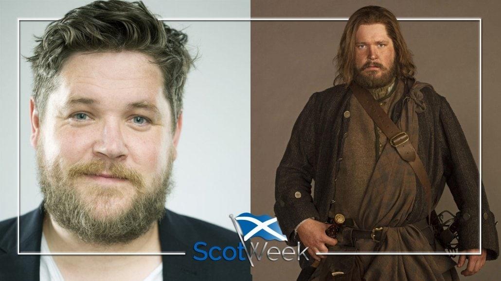 Outlander's Grant O'Rourke