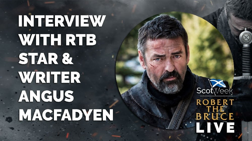 image of on location with Robert The Bruce Film Interview With Robert The Bruce Star & Writer Angus Macfadyen