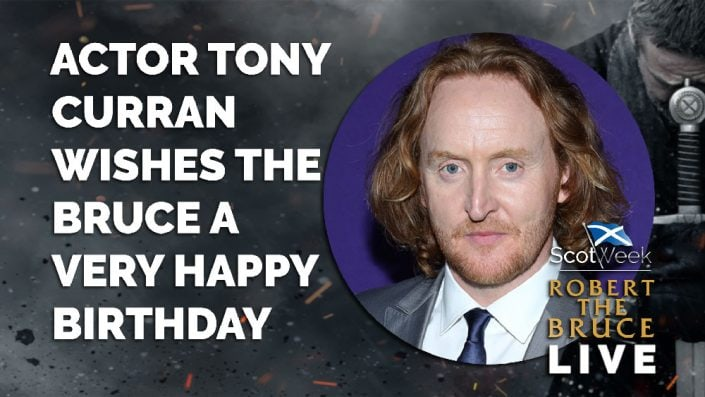 image of on location with Robert The Bruce Actor Tony Curran Wishes The Bruce A Very Happy Birthday