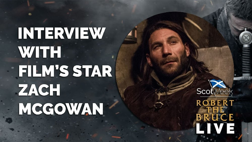 image of on location with Robert The Bruce Film Interview With Film's Star Zach McGowan