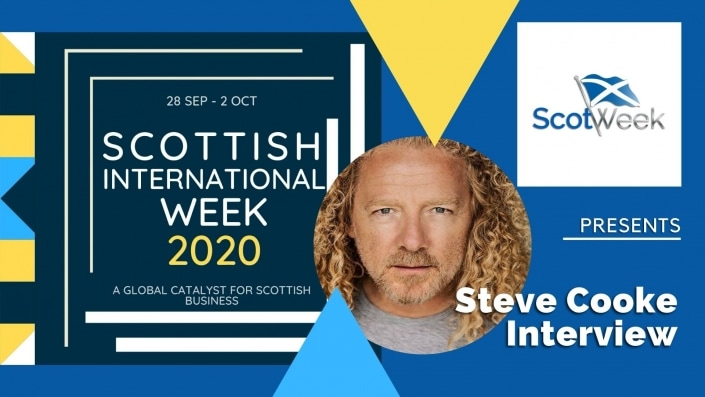 Feature Art - Steve Cooke LA Talk Radio Interview - Scottish International Week