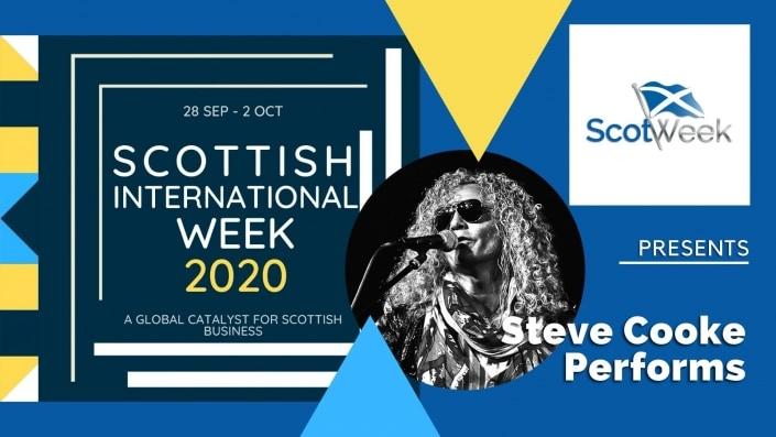 "Feature Art - Steve Cooke & his band perform Zeppelin's ""Thank You"" - Scottish International Week"