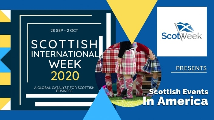 Feature Art - Scottish Festivals in America - Scottish International Week