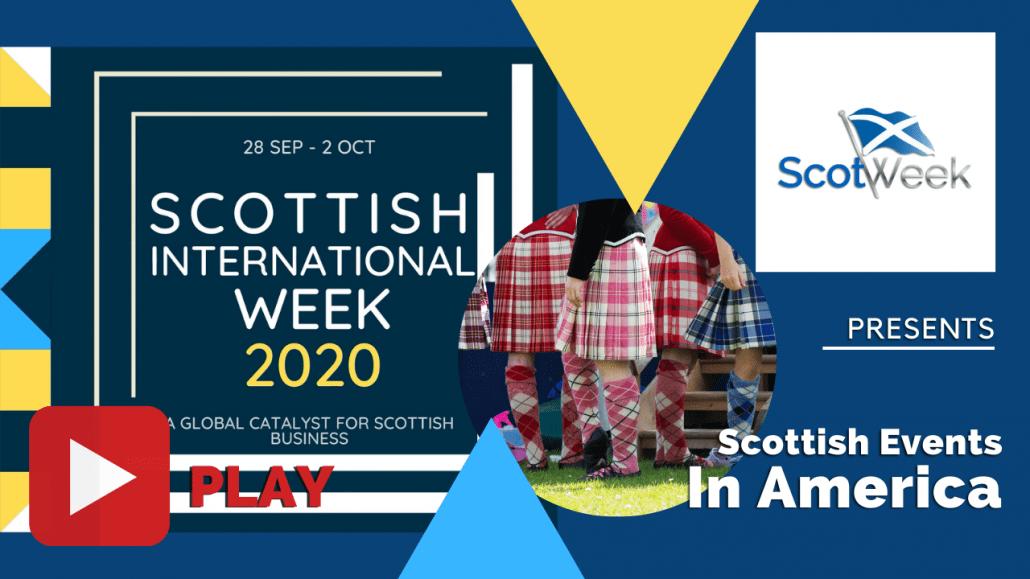 Feature Art - Scottish Festivals in America - Scottish International Week