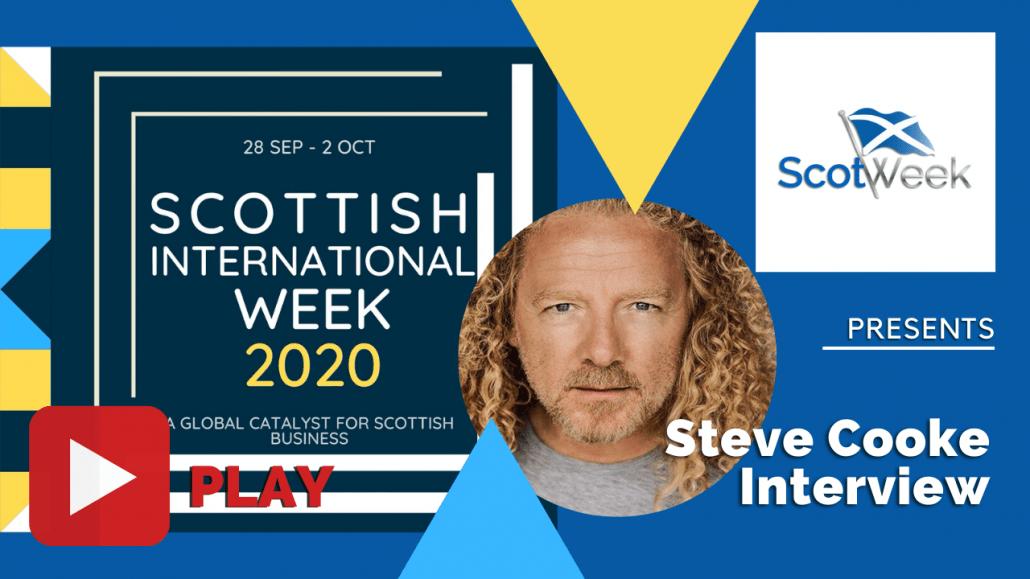 Feature Art - Steve Cooke LA Talk Radio Interview - Scottish International Week