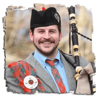 Iain MacGillivray<br />Clan Commander | Piper